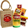 Spanish Chorizos sampler gift bag. Variety of 5 brands