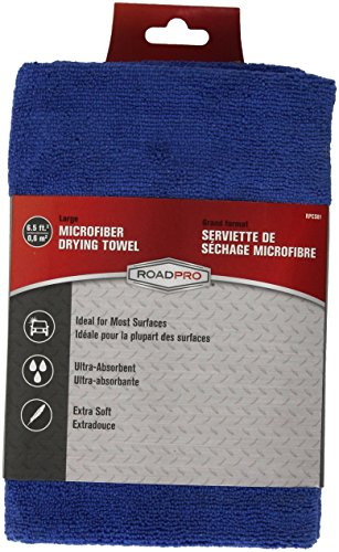 RoadPro RPCS01 Large Microfiber Towel