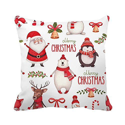 """Decorative Pillow Cover Christmas Gifts Where You Lead Theme Song Cushion Cover 18"""" x 18"""""""