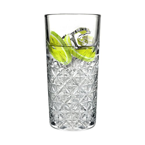 Ginsanity 16oz / 450ml Roaring 20's Vintage Gin & Tonic/Cocktail Long Glass