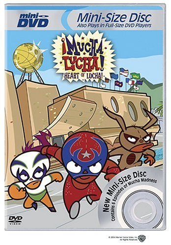 Mucha Lucha: Heart of Lucha (Mini-DVD) by Warner Home Video by Warner Manufacturing