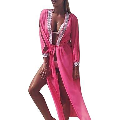 TOPKEAL Playa Vestido Informal de Damas Vestido Maxi Atractivo de ...