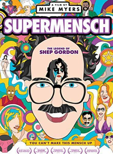 Supermensch: The Legend of Shep Gordon DVD