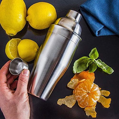 SHAKER Edelstahl Barmixer Cocktail Bar Mixer Drink 0,7 L