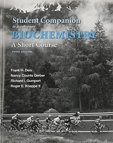 Biochemistry:Short Course Stud.Comp.