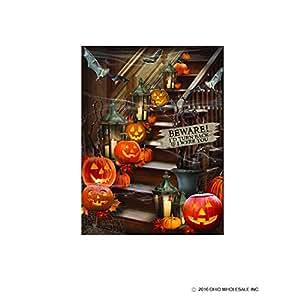 Amazon.com: Lighted Halloween Stairway Canvas: Wall Art
