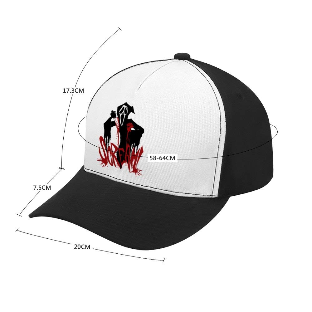 Classic Adjustable Plain Hats Dad Hats Black Scary Stories to Tell in The Dark 1Top Level Baseball Caps Men Women