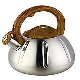 OCATO 3.2 Quart Tea Kettle Stainless Steel Teakettles Whistling...