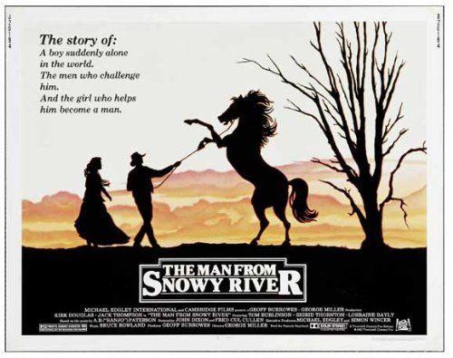 The Man From Snowy River POSTER Movie (22 x 28 Inches - 56cm x 72cm) (1982) (Half Sheet Style (22 Half Sheet Movie Poster)