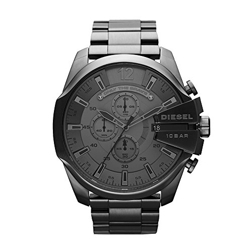 Diesel Men's DZ4282 Mega Chief Gunmetal Watch by Diesel