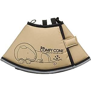 Comfy Cone PetE-Collar, Small, Tan