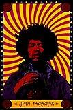Jimi Hendrix - Psychedelic - Maxi Poster - 61 cm x 91.5 cm