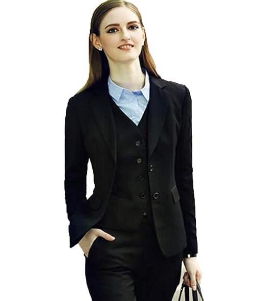 Amazon.com: WZW Lady - Conjunto de traje de oficina para ...