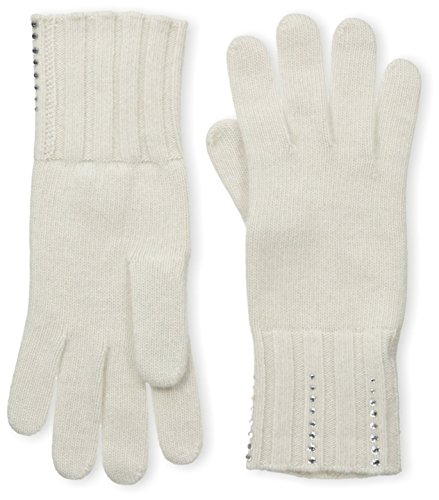 Portolano Women's Cashmere Gloves, Yogi Ivory