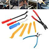 Alina-Shops - Auto Fastener Removal Tool Car Door Panel Upholstery Engine Cover Fender Clips Repair Tools Installer Clip Plier tools