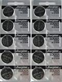 Watches : Energizer CR2025 3V Lithium Coin Battery 10 Pack (2 packs of 5)