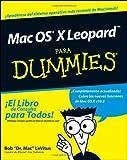 Mac OS X Leopard para Dummies, Bob LeVitus, 0470379030