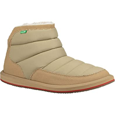 ba8b9a475ce798 Image Unavailable. Image not available for. Color  Sanuk Men s Puff N Chill  Boots ...
