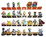 Wall Mount Display Stand for Amiibo Figurines and Toys, Red 2 pack - Nextronics
