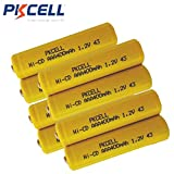 8 Pack AAA NiCd 1.2V Rechargeable Batteries for Garden Landscaping Solar Lights