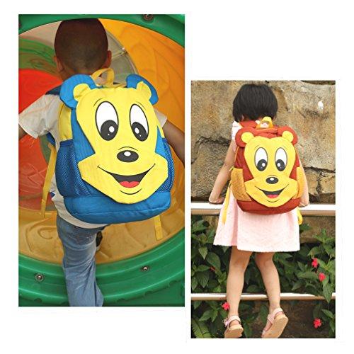Good Night Kindergarten Kinder Cute Monkey Rucksack rot SwrbrTNTf