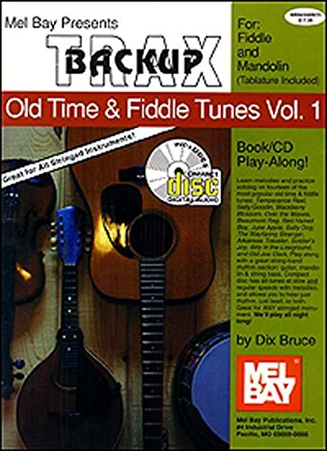 Mel Bay Backup Trax: Old Time & Fiddle Tunes for Fiddle & Mandolin