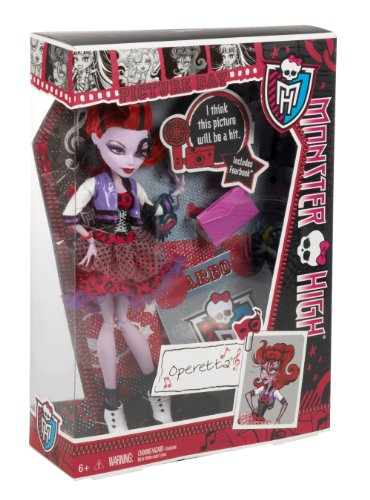 Amazoncom Monster High Picture Day Operetta Doll Toys Games