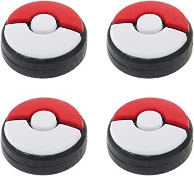 perfk Pokeball Plus Joystick Grip Cover para Switch Joycon ...