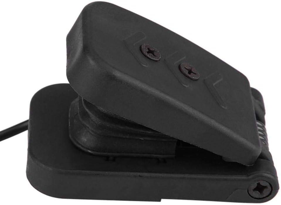 Universal Black Plastic ATV Foot Accelerator Throttle Speed Control Brake Pedal Qiilu Foot Brake Pedal