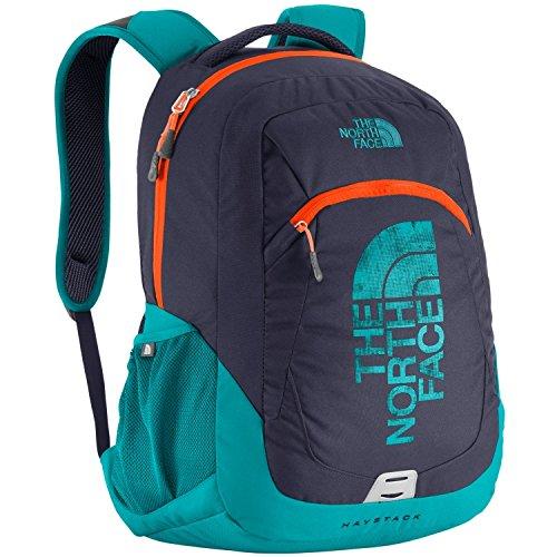 The North Face Haystack Graphic Backpack, Cosmicblue/Shockingorange, One Size
