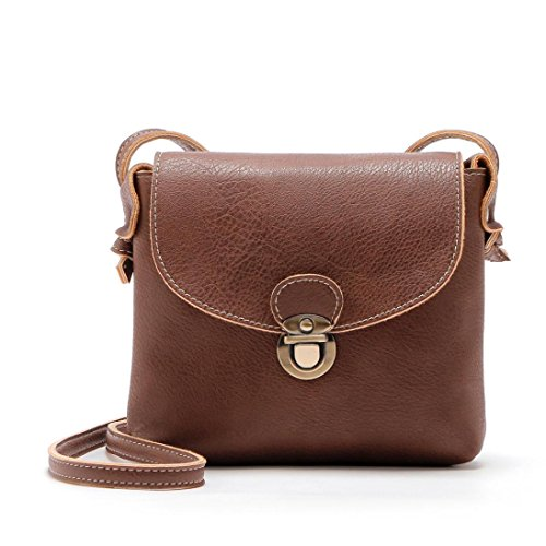 Women Handbag,[Vintage Hobo Crossbody Bag] Tote PU Leather Handbags Stylish Large Capacity Bags [ Travel Shoulder Beach Bags] (Coffee) -  AuroraX