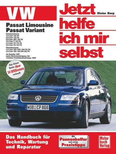 Read Online VW Passat. Alle Modelle. Jetzt helfe ich mir selbst pdf
