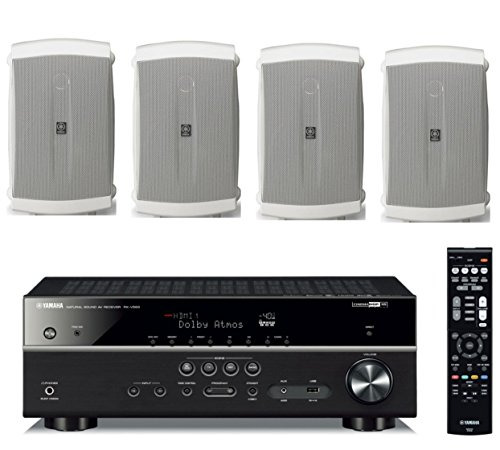 Yamaha 7.2-Channel Wireless Bluetooth 4K Network A/V Wi-Fi H