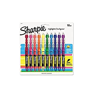 Sharpie - Accent Liquid Pen Style Highlighter-10 Count, SAN24415PP, (2 PACK)