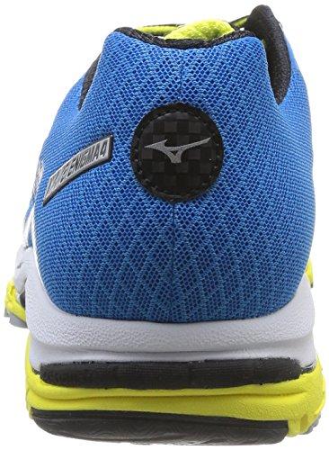 Green Blue Course nbsp;Chaussures Wave Diva Silver Classic de Homme pour Blau Enigma Mizuno 4 S6Bvx