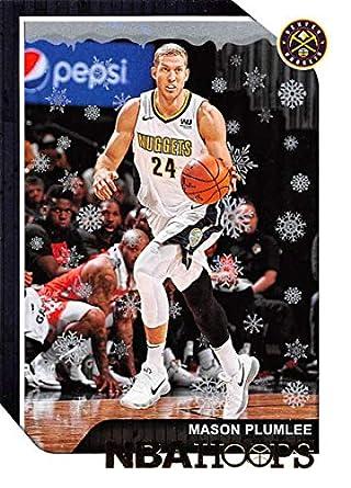 2018-19 NBA Hoops Holiday  62 Mason Plumlee Denver Nuggets Official Panini  Basketball Card 23153ae77