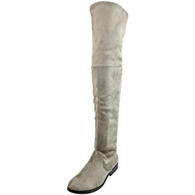 LFL by Lust for Life Women's Radikal Taupe Suedette Boot 6 B ...