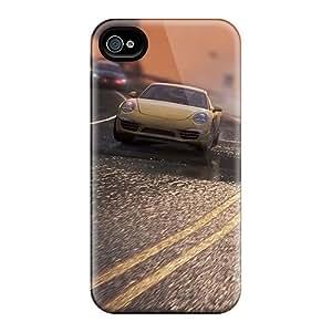 Tpu HHaroldshon Shockproof Scratcheproof Speed Race Hard Case Cover For Iphone 4/4s