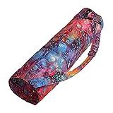 Hugger Mugger Batik Yoga Mat Bag (Multi-Purple) Review