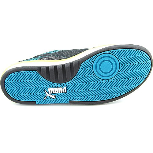 PUMA Mens GV 500 Woven Mesh Sneaker, Steel Gray/Black/Cap, 12 M