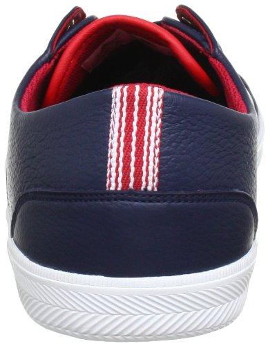 Lacoste Haneda CRE SPM 7-25SPM40041P4 Herren Sneaker Blau (Dunkelblau/Rot)