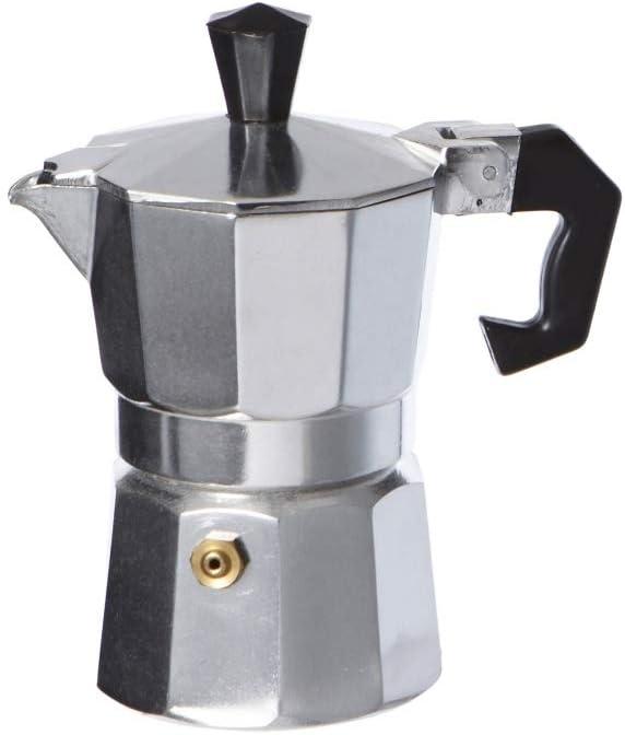 takestop® Cafetera 6 Tazas Taza Espresso napolitano Aluminio ...