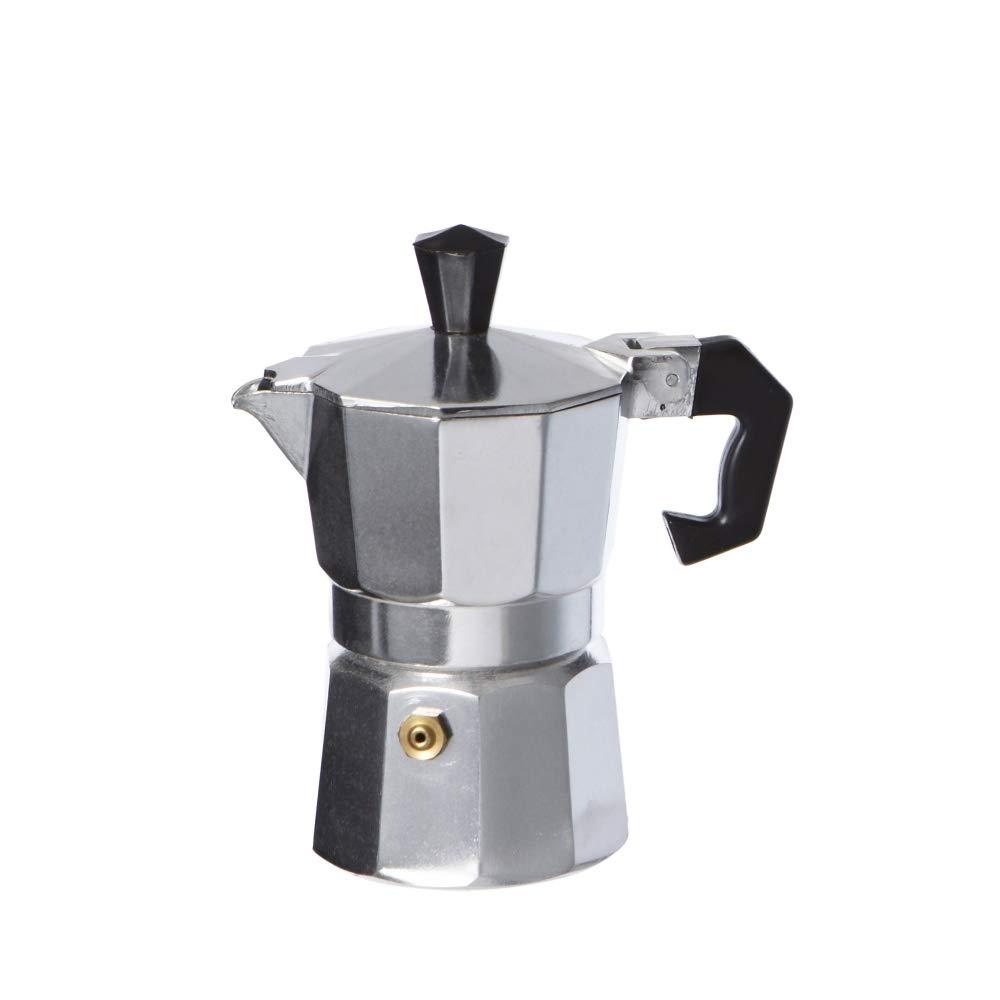 Acquisto takestop® CAFFETTIERA Moka 6 Tazze Tazza Espresso Napoletano Alluminio CAFFÈ Coffee Bar Prezzi offerta