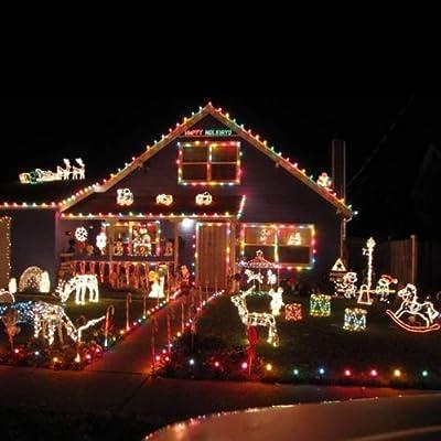 100 LED 10m String Decoration Light for Christmas Party Wedding 110v (Pink)