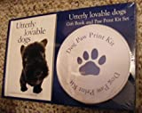 Utterly Lovable Dogs (Gift Book and Paw Print Kit set