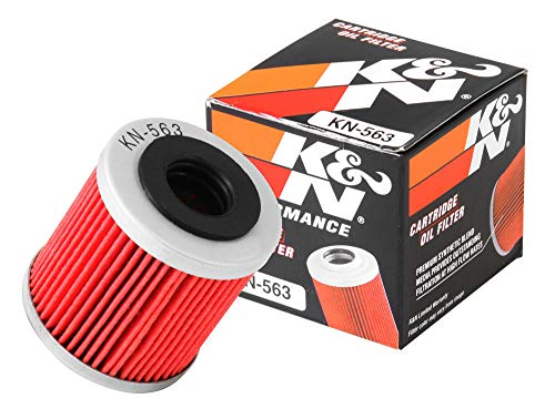 KN-563 K&N Performance Oil Filter; POWERSPORTS CARTRIDGE (Powersports Oil Filters):
