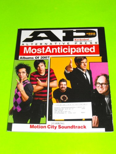 2007's Most Anticipated Albums - Motion City, Fall out Boy, Panic! at the Disco (AP Alternative Press Magazine - January 2007 - #222) Exclusive Subscriber Only Cover