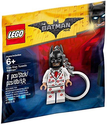 LEGO Kiss Kiss Tuxedo Batman Key - Keychain Batman Lego
