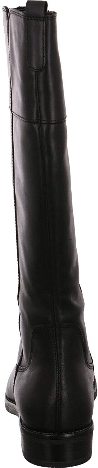 Tamaris 1-1-25562-25, Botte Haute Jusqu\'au Genou Femme Noir