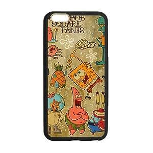 Spongebob Squarepants Pattern Case for iPhone 6 Plus 5.5